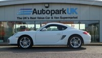 USED 2012 12 PORSCHE CAYMAN 2.9 24V PDK 2d AUTO 265 BHP LOW DEPOSIT OR NO DEPOSIT FINANCE AVAILABLE