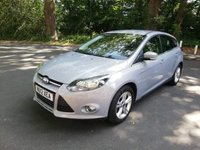 USED 2012 12 FORD FOCUS 1.6 ZETEC 5d 104 BHP CALL OUR SUPER FRIENDLY TEAM FOR MORE INFO 02382 025 888