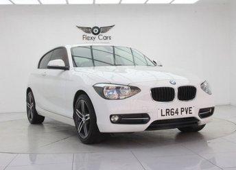 2014 BMW 1 SERIES 1.6 114I SPORT 3d 101 BHP £8490.00