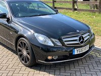 USED 2011 61 MERCEDES-BENZ E CLASS 3.0 E350 CDI BLUEEFFICIENCY SE 2d AUTO 265 BHP