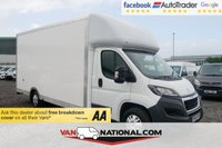 USED 2018 18 PEUGEOT BOXER 2.0 BLUE HDI 335 B/B 130 BHP (5.1 METRE ULTIMATE MAXI MOVER LOW LOADER LUTON)  * EXTRA LONG MAXI MOVER * AIR CON * NAVIGATION * CRUISE * DAB *