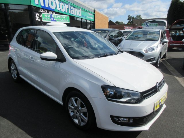 USED 2013 13 VOLKSWAGEN POLO 1.2 MATCH TDI 5d 74 BHP **BUY NOW PAY NEXT YEAR**