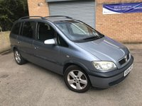 USED 2004 04 VAUXHALL ZAFIRA 1.6 ENERGY 16V 5d 99 BHP PX TO CLEAR  PX TO CLEAR, LONG MOT, BARGAIN 7 SEATS,