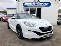 USED 2013 63 PEUGEOT RCZ 2.0 HDI GT FAP 2d 163 BHP GT, Full History, Great Specification!