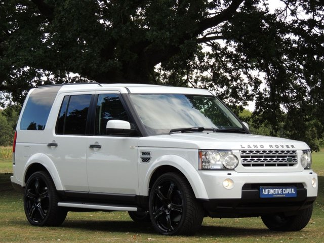 2011 61 LAND ROVER DISCOVERY 3.0 4 SDV6 XS 5d AUTO 255 BHP