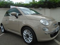 USED 2014 14 FIAT 500 0.9 TWINAIR LOUNGE 3d 85 BHP GUARANTEED TO BEAT ANY 'WE BUY ANY CAR' VALUATION ON YOUR PART EXCHANGE