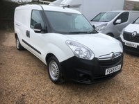 USED 2015 65 VAUXHALL COMBO 1.6 2300 L2H1 CDTI S/S 1d 105 BHP ONE OWNER * FULL SERVICE HISTORY * 105HP 6 SPEED