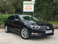 USED 2015 15 VOLKSWAGEN PASSAT 1.6 SE BUSINESS TDI BLUEMOTION TECHNOLOGY 5dr Sat Nav, £20 Tax, Cruise