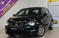USED 2016 16 SEAT IBIZA 1.4 ECOTSI FR TECHNOLOGY 5d 148 BHP SAT NAV, TECHNOLOGY PACK, MEDIA SYSTEM PLUS, FULL LINK, CRUISE CONTROL, FULL SERVICE HISTORY