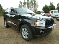 USED 2007 07 JEEP GRAND CHEROKEE 3.0 V6 CRD LIMITED 5d AUTO 215 BHP WHOLESALE DIVISION