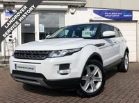 USED 2012 62 LAND ROVER RANGE ROVER EVOQUE 2.2 SD4 PURE TECH 5d 190 BHP LOVELY EXAMPLE WITH FULL LAND ROVER HISTORY - FINANCE ARRANGED -