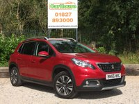 USED 2016 66 PEUGEOT 2008 1.2 PURETECH ALLURE 5dr £30 Tax, Cruise, 1 Owner, FPSH