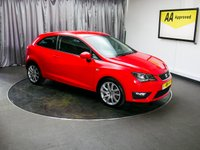 USED 2016 16 SEAT IBIZA 1.2 TSI FR TECHNOLOGY 3d 109 BHP £0 DEPOSIT FINANCE AVAILABLE, AIR CONDITIONING, AUTOMATIC HEADLIGHTS, AUX INPUT, BLUETOOTH CONNECTIVITY, CLIMATE CONTROL, CRUISE CONTROL, DAB RADIO, DAYTIME RUNNING LIGHTS, HEATED DOOR MIRRORS, SATELLITE NAVIGATION, STEERING WHEEL CONTROLS, TOUCH SCREEN HEAD UNIT, TRIP COMPUTER, USB INPUT