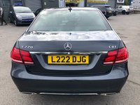USED 2013 MERCEDES-BENZ E CLASS 2.1 E220 CDI SE 4d AUTO 168 BHP IN METALLIC GREY WITH FULL SERVICE HISTORY, BLACK LEATHER INTERIOR, 1 OWNER AND IS ULEZ COMPLIANT  Approved Cars Isuzu are pleased to offer this 2013 MERCEDES-BENZ E CLASS 2.1 E220 CDI 4 door Automatic. this is a well looked after 1 owner car had has only covered 30000 miles. It has been well looked after and has been serviced at 3.5k, 9k, 15k, 21k, and 27k mile. The private plate T24AEB is staying on the car and will be included in the sale. The E Class has a great spec including Sat Nav, Bluetooth, Heated Seats, Front and Rear parking sensors and much much more.