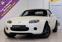 USED 2007 07 MAZDA MX-5 1.8 ICON 2d 125 BHP STUNNING ICON MODEL, VERIFIED LOW MILEAGE, ELECTRIC WINDOWS AND MIRRORS, CLIMATE CONTROL