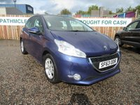 USED 2013 63 PEUGEOT 208 1.0 ACTIVE 5d 68 BHP