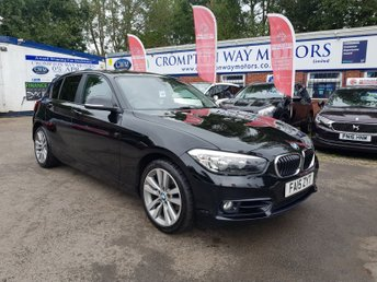 2015 BMW 1 SERIES 2.0 118D SPORT 5d 147 BHP £9250.00