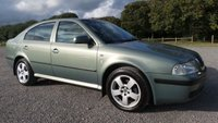 USED 2002 52 SKODA OCTAVIA 2.0 ELEGANCE 5d 114 BHP ELECTRIC SUNROOF, CLIMATE CONTROL, CD-PLAYER, ALLOYS, REMOTE LOCKING, 2 X KEYS, ELECTRIC WINDOWS, METALLIC PAINT, CLEAN EXAMPLE, PART EX TO CLEAR