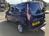USED 2018 18 FORD TRANSIT CONNECT 1.5 200 LIMITED P/V 1d AUTO 118 BHP [NAVIGATION] ** RAC BUYSURE INSPECTED **
