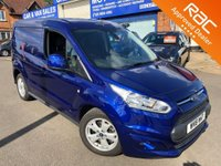 2018 FORD TRANSIT CONNECT 1.5 200 LIMITED P/V 1d AUTO 118 BHP [NAVIGATION]