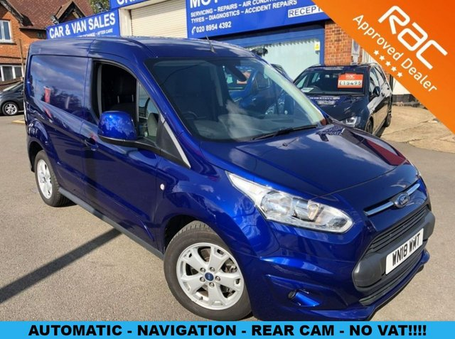 2018 18 FORD TRANSIT CONNECT 1.5 200 LIMITED P/V 1d AUTO 118 BHP [NAVIGATION]