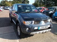 USED 2009 MITSUBISHI L200 2.5 ANIMAL LWB DCB 1d AUTO 164 BHP Superb Driving L200 Animal, FSH (12 Stamps), Documented Cambelt Change 10 Months Ago!