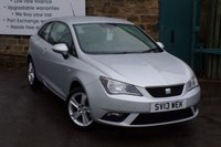 USED 2013 13 SEAT IBIZA 1.4 TOCA 3d 85 BHP Two Owners Seat Service History