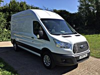 USED 2017 17 FORD TRANSIT 2.0 350 L3 H3 P/V DRW 1d 129 BHP EURO 6 FOR LONDON EURO 6 , ULEZ  COMPLIANT, 130 BHP,
