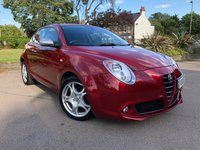USED 2010 60 ALFA ROMEO MITO 1.4 LUSSO MULTIAIR TB 3d 135 BHP OVER £2000 OF FACTORY EXTRAS...