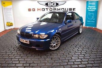 2004 BMW 3 SERIES 2.2 320CI SPORT 2d AUTO 168 BHP £3285.00
