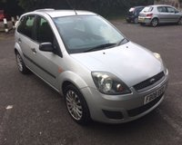 2008 FORD FIESTA 1.6 STYLE CLIMATE 16V 5d AUTO 100 BHP £2950.00