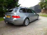 USED 2005 05 BMW 5 SERIES 3.0 530D SPORT TOURING 5d AUTO 215 BHP FANTASTIC EXAMPLE. MAINTAINED REGARDLESS OF COST. VERY HIGH SPEC. SAT NAV. XENON LIGHTS. BLUETOOTH.