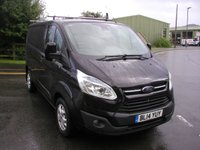 USED 2014 14 FORD TRANSIT CUSTOM 2.2 270 LIMITED LR 1d 124 BHP VAN - SOLD Only 43000 miles, Service History, Air Con