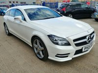 USED 2013 13 MERCEDES-BENZ CLS CLASS 2.1 CLS250 CDI BLUEEFFICIENCY AMG SPORT 5d AUTO 202 BHP Full Service History | Full Heated Leather | Satellite Navigation | Reverse Parking Camera | Cruise Control