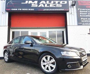 2011 AUDI A4 2.0 TDI TECHNIK 4d 134 BHP £6995.00