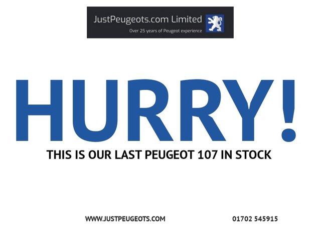 PEUGEOT 107 at Justpeugeots.com Ltd