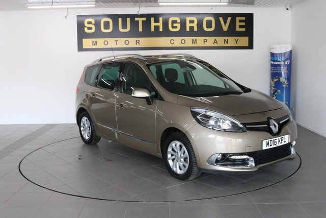 USED 2016 16 RENAULT GRAND SCENIC 1.5 DYNAMIQUE NAV DCI 5d AUTO 110 BHP