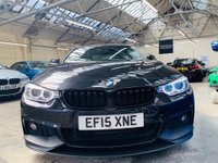 USED 2015 15 BMW 4 SERIES 3.0 430d M Sport 2dr PERFORMANCEPACK+HK+PRONAV+19S
