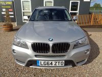 USED 2014 64 BMW X3 2.0 20d SE xDrive 5dr Full BMW History, 1 Owner
