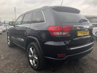 USED 2011 11 JEEP GRAND CHEROKEE 3.0 CRD V6 Overland 4x4 5dr LOW MILES+FSH+PAN ROOF+VALUE!!