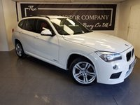 USED 2013 13 BMW X1 2.0 XDRIVE18D M SPORT 5d + 1 OWNER + SERVICE HISTORY