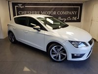 USED 2014 63 SEAT LEON 1.8 TSI FR 5d 180 BHP + HALF LEATHER + PRIVACY GLASS