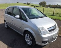 USED 2006 06 VAUXHALL MERIVA 1.4 ACTIVE 16V TWINPORT 5d 90 BHP **BARGAIN PX PRICED TO CLEAR**