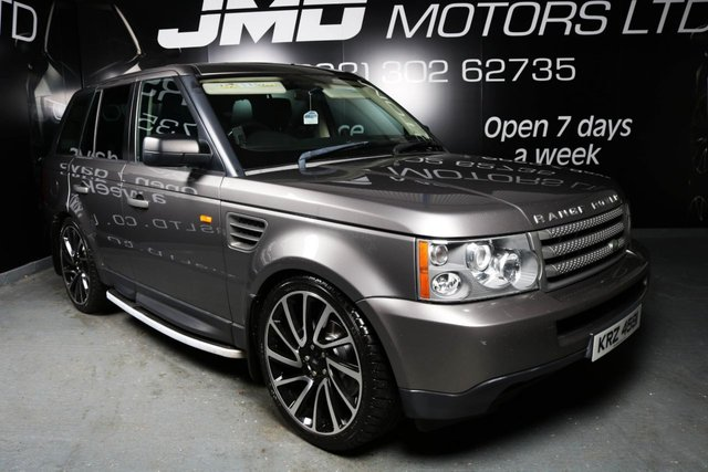 2008 LAND ROVER RANGE ROVER SPORT 2.7 TDV6 SPORT S AUTO 188 BHP (FINANCE AND WARRANTY)
