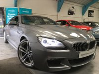 USED 2014 08 BMW 6 SERIES 3.0 640D M SPORT GRAN COUPE 4d AUTO 309 BHP