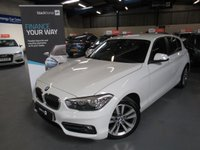 USED 2015 15 BMW 1 SERIES 1.5 116D SPORT 5d 114 BHP PRO NAV