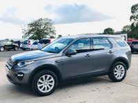 USED 2015 15 LAND ROVER DISCOVERY SPORT 2.2 SD4 SE TECH 5d AUTO 190 BHP 7 SEATS 4WD Leather seats (black), Heated / Electric, Front & Rear parking sensors,