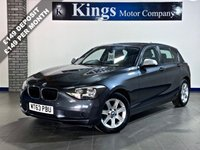 USED 2014 63 BMW 1 SERIES 1.6 114D Efficient ES 5dr 1 OWNER, FULL BMW S/HISTORY , £20 TAX, 68.9 MPG, NEW SHAPE