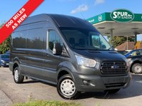 USED 2017 17 FORD TRANSIT 2.0 350 L3 H3 P/V DRW 1d 130 BHP Only 529 Miles! AS NEW, Long Wheel Base, High Roof, Euro 6, ULEZ Compliant.
