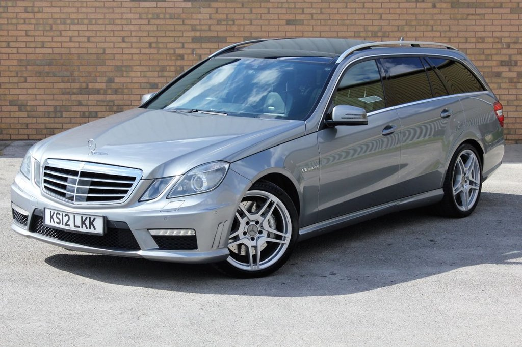 USED 2012 12 MERCEDES-BENZ E-CLASS 5.5 E63 AMG 5d AUTO 518 BHP HUGE PERFORMANCE ESTATE